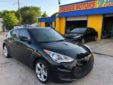 2013 Hyundai Veloster for sale at PREMIER MOTORS OF PEARLAND in Pearland TX