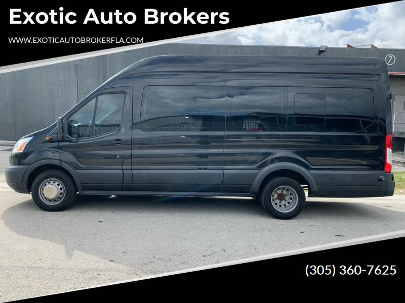 2015 Ford Transit Passenger for sale at Exotic Auto Brokers in Miami FL