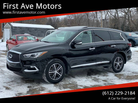 2019 Infiniti QX60 for sale at First Ave Motors in Shakopee MN