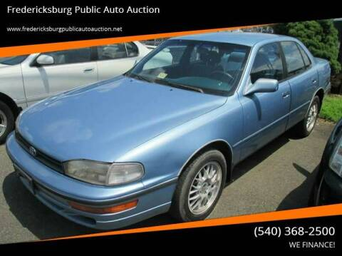 1993 Toyota Camry for sale at FPAA in Fredericksburg VA