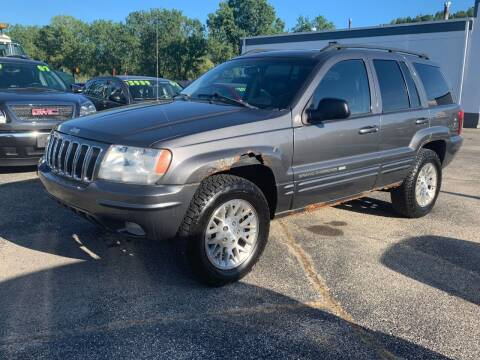 2002 Jeep Grand Cherokee for sale at HIGHLINE AUTO LLC in Kenosha WI