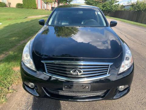 2011 Infiniti G25 Sedan for sale at Luxury Cars Xchange in Lockport IL