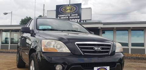 2008 Kia Sorento for sale at BERG AUTO MALL & TRUCKING INC in Beresford SD