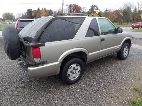 2003 Chevrolet Blazer for sale at English Autos in Grove City PA