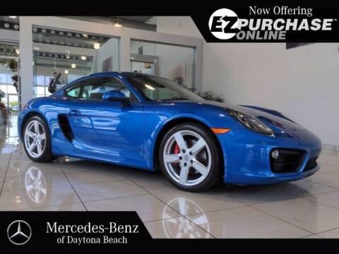 2014 Porsche Cayman for sale at Mercedes-Benz of Daytona Beach in Daytona Beach FL