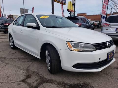 2014 Volkswagen Jetta for sale at AutoBank in Chicago IL