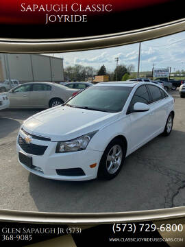 2012 Chevrolet Cruze for sale at Sapaugh Classic Joyride in Salem MO