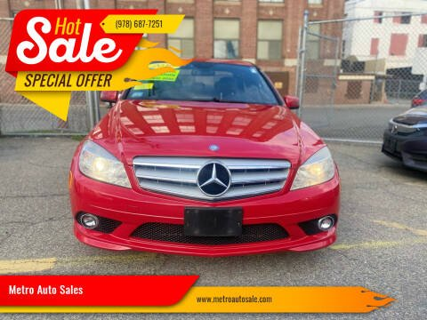 2010 Mercedes-Benz C-Class for sale at Metro Auto Sales in Lawrence MA