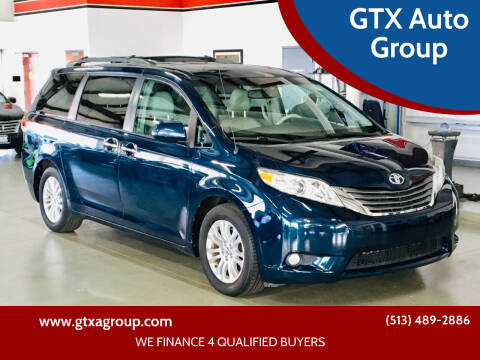 2012 Toyota Sienna for sale at GTX Auto Group in West Chester OH