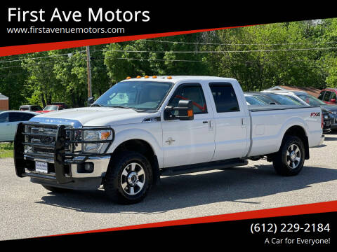2013 Ford F-250 Super Duty for sale at First Ave Motors in Shakopee MN