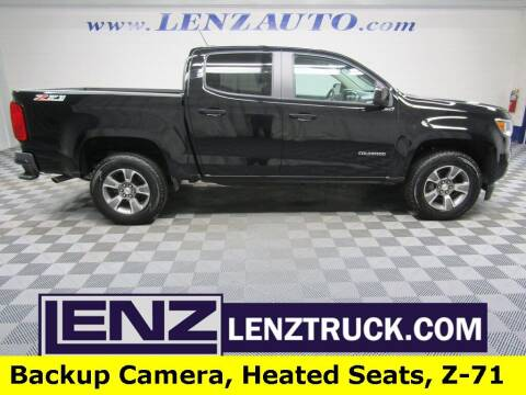 2020 Chevrolet Colorado for sale at LENZ TRUCK CENTER in Fond Du Lac WI