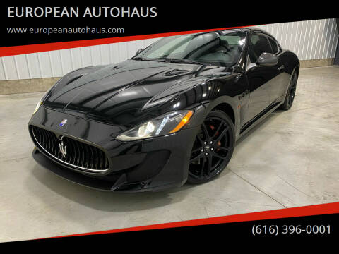 2013 Maserati GranTurismo for sale at EUROPEAN AUTOHAUS in Holland MI