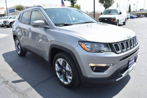 2021 Jeep Compass for sale at DIAMOND VALLEY HONDA in Hemet CA