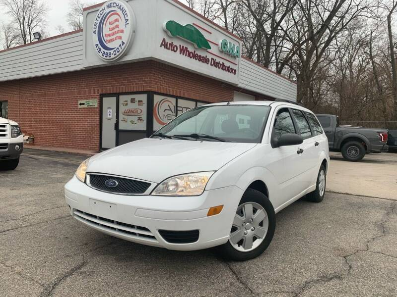 2007 Ford Focus for sale at GMA Automotive Wholesale in Toledo OH
