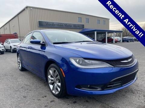 2015 Chrysler 200 for sale at Vorderman Imports in Fort Wayne IN