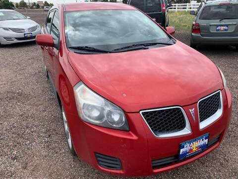2009 Pontiac Vibe for sale at Praylea's Auto Sales in Peyton CO