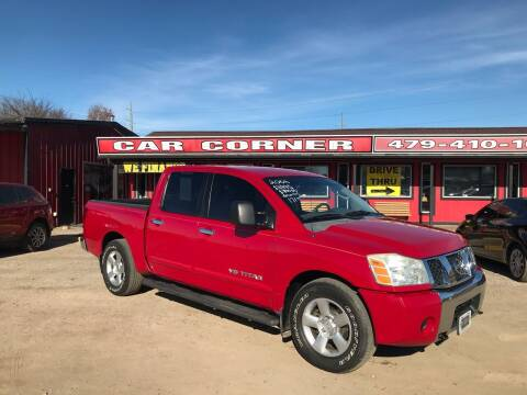 2006 Nissan Titan for sale at CAR CORNER in Van Buren AR
