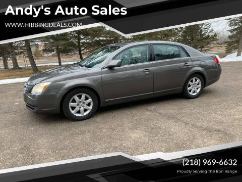 2005 Toyota Avalon for sale at Andy's Auto Sales in Hibbing MN
