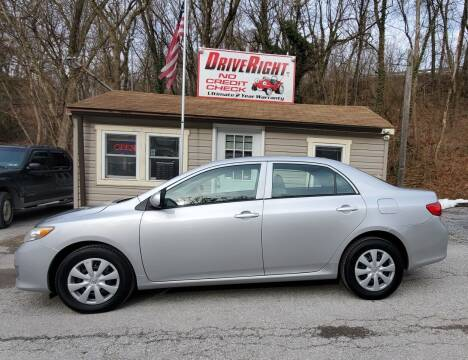 2010 Toyota Corolla for sale at DriveRight Autos South York in York PA