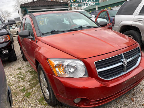 2007 Dodge Caliber for sale at GREENLIGHT AUTO SALES in Akron OH