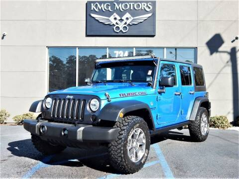 2015 Jeep Wrangler Unlimited for sale at KMG Motors in Slidell LA