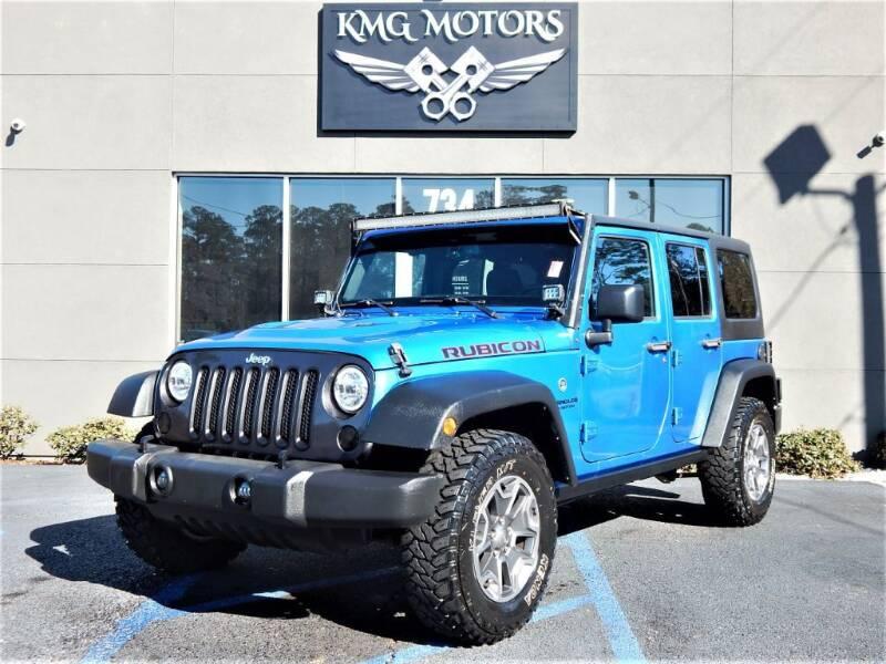 2015 Jeep Wrangler Unlimited for sale at KMG Motors in Slidell LA