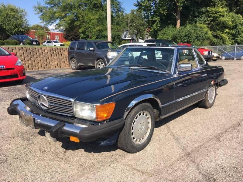1976 Mercedes-Benz 450 SL for sale at Borderline Auto Sales in Loveland OH