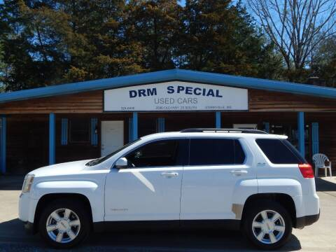 2011 GMC Terrain for sale at DRM Special Used Cars in Starkville MS