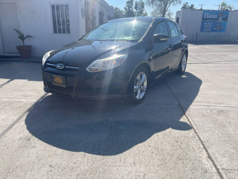 2013 Ford Focus for sale at CALIFORNIA AUTO FINANCE GROUP in Fontana CA