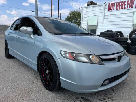 2007 Honda Civic for sale at Eastside Auto Sales in El Paso TX