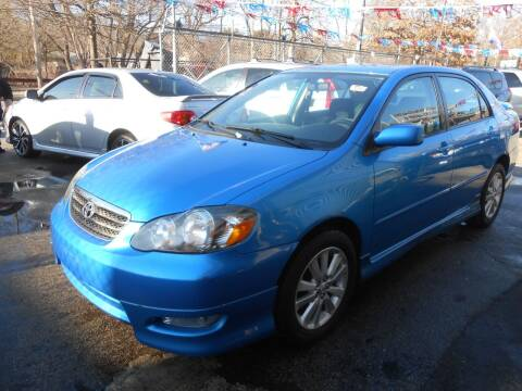 2007 Toyota Corolla for sale at N H AUTO WHOLESALERS in Roslindale MA