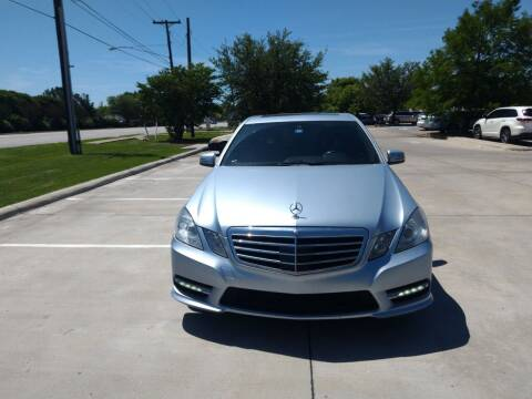 2013 Mercedes-Benz E-Class for sale at Solo Auto Group in Mckinney TX