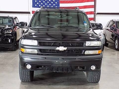 2005 Chevrolet Tahoe for sale at Texas Motor Sport in Houston TX