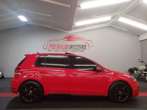 2013 Volkswagen GTI for sale at Premium Motors in Villa Park IL
