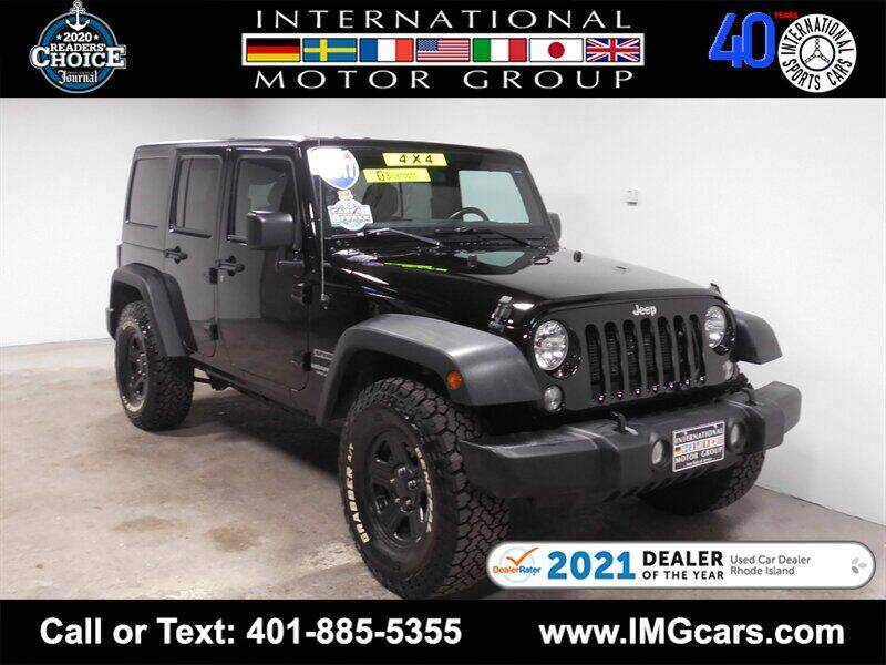 2017 Jeep Wrangler Unlimited for sale at International Motor Group in Warwick RI