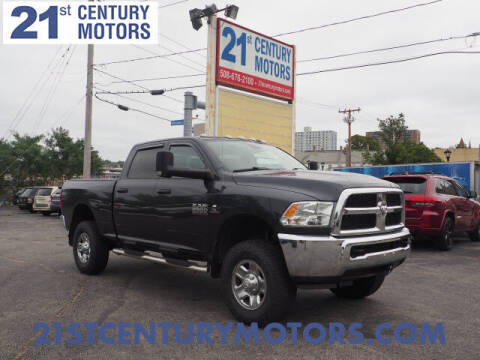 2017 RAM Ram Pickup 2500 for sale at 21st Century Motors in Fall River MA