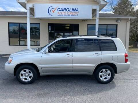 2006 Toyota Highlander for sale at Carolina Auto Credit in Youngsville NC