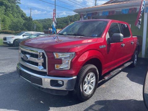 2015 Ford F-150 for sale at PIONEER USED AUTOS & RV SALES in Lavalette WV