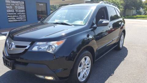 2009 Acura MDX for sale at Trimax Auto Group in Norfolk VA