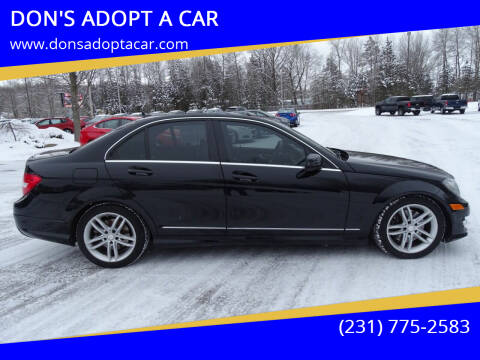 2014 Mercedes-Benz C-Class for sale at DON'S ADOPT A CAR in Cadillac MI
