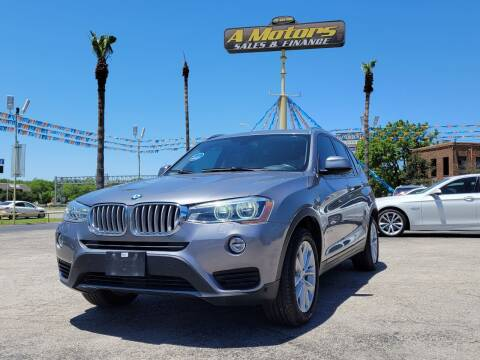 2015 BMW X3 for sale at A MOTORS SALES AND FINANCE in San Antonio TX