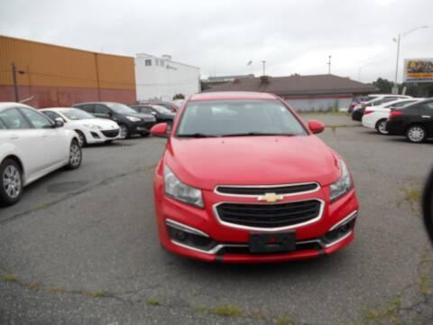 2015 Chevrolet Cruze for sale at LYNN MOTOR SALES in Lynn MA