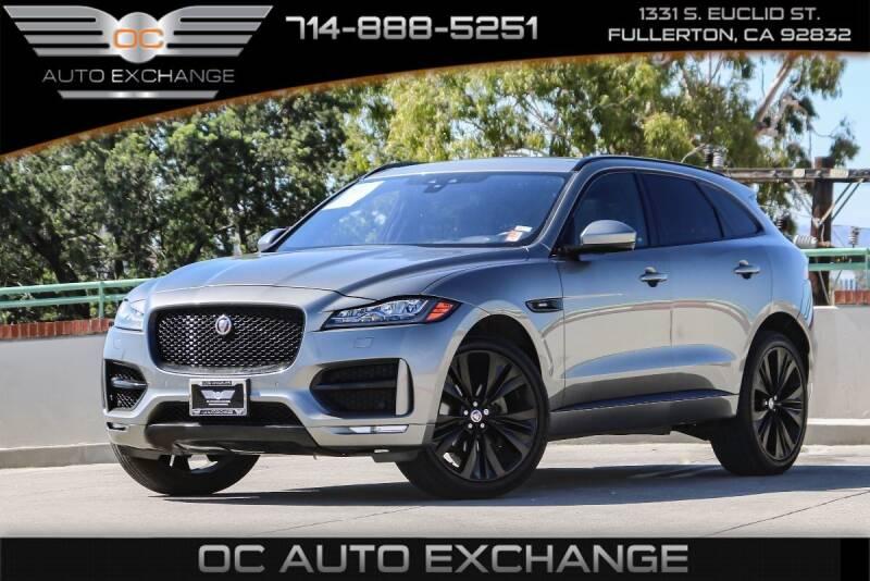 2018 Jaguar F-PACE for sale in Fullerton, CA