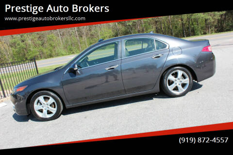 2013 Acura TSX for sale at Prestige Auto Brokers in Raleigh NC