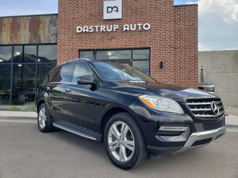 2013 Mercedes-Benz M-Class for sale at Dastrup Auto in Lindon UT