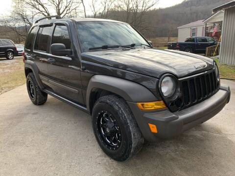 2006 Jeep Liberty for sale at Day Family Auto Sales in Wooton KY