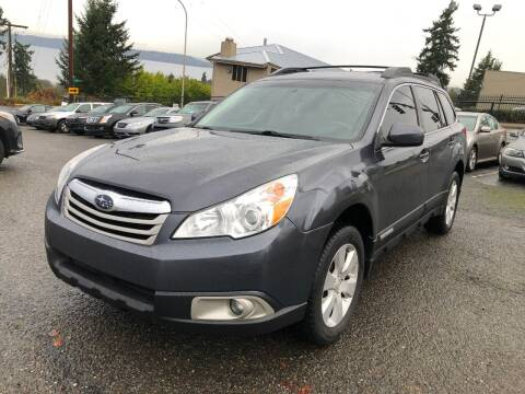 2012 Subaru Outback for sale at KARMA AUTO SALES in Federal Way WA