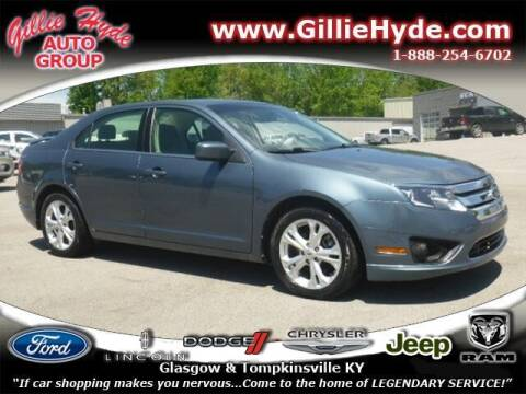 2012 Ford Fusion for sale at Gillie Hyde Auto Group in Glasgow KY