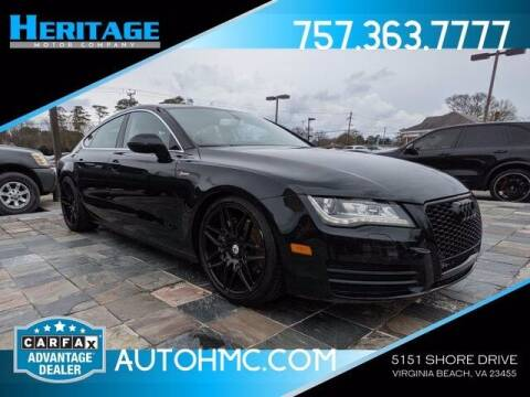 2013 Audi A7 for sale at Heritage Motor Company in Virginia Beach VA