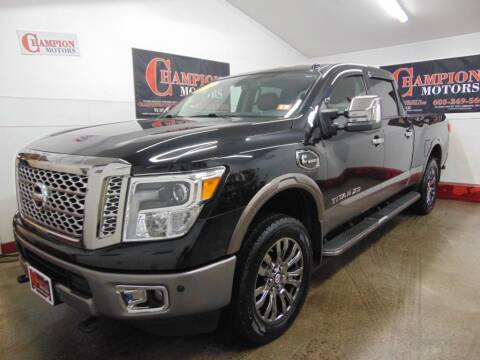 2016 Nissan Titan XD for sale at Champion Motors in Amherst NH